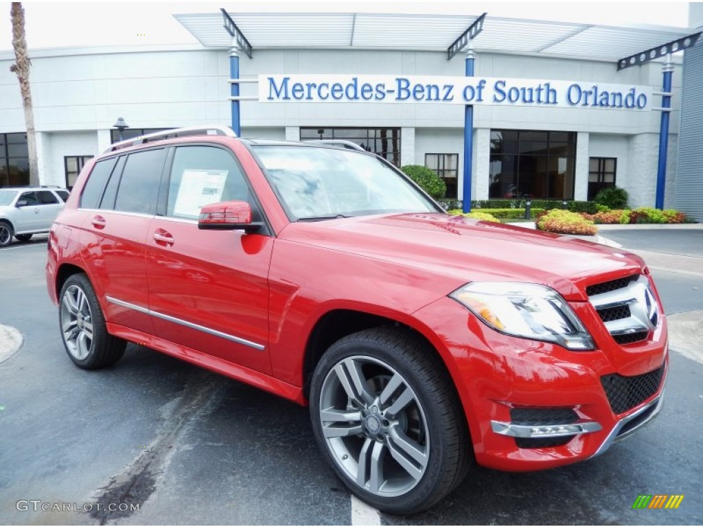 2014 Mars Red Mercedes Benz Glk 350 83774322 Gtcarlot