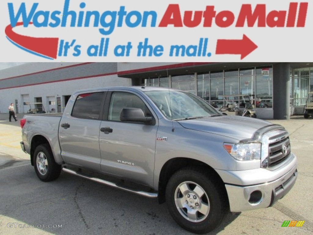 2011 Tundra TRD CrewMax 4x4 - Silver Sky Metallic / Graphite Gray photo #1