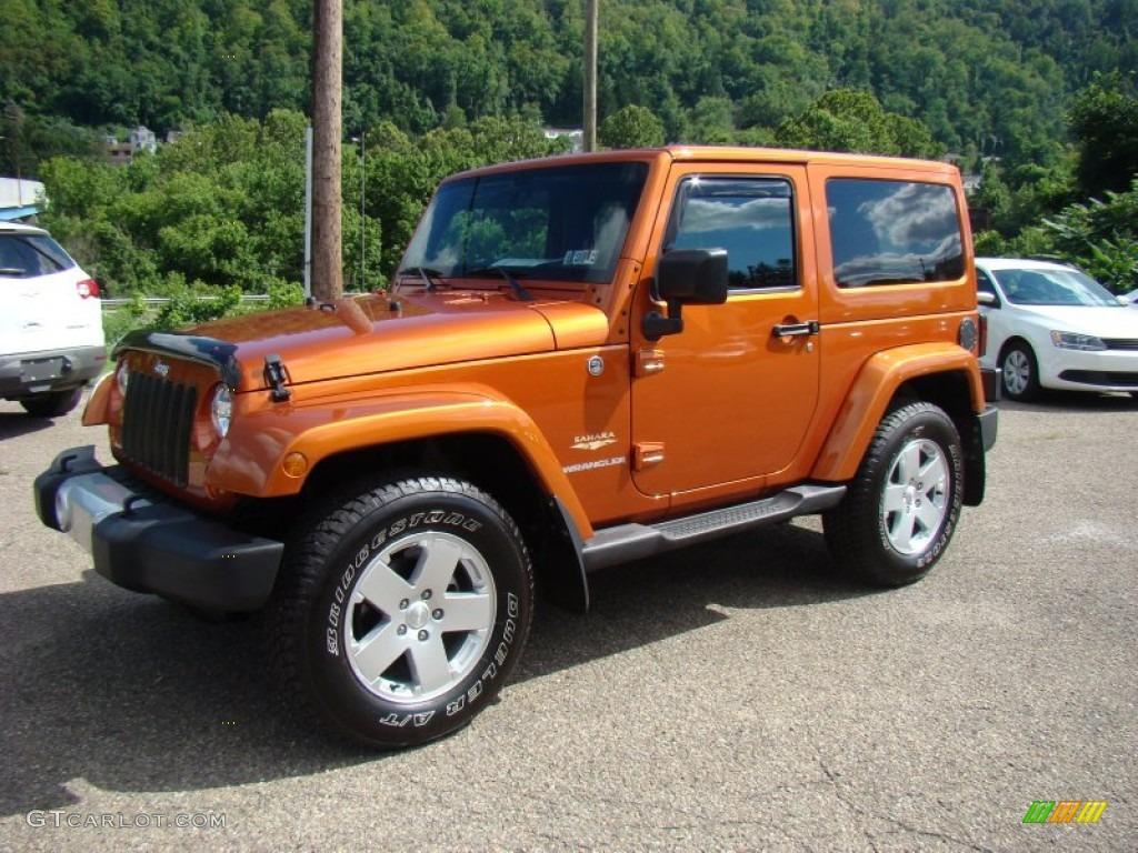 mango tango pearl 2011 jeep wrangler sahara 4x4 exterior. Black Bedroom Furniture Sets. Home Design Ideas