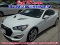 White Satin Pearl 2013 Hyundai Genesis Coupe 3.8 Grand Touring