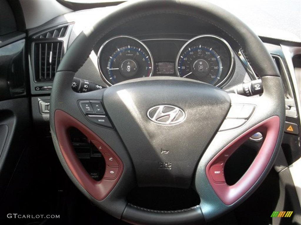 2013 hyundai sonata limited steering wheel photos. Black Bedroom Furniture Sets. Home Design Ideas