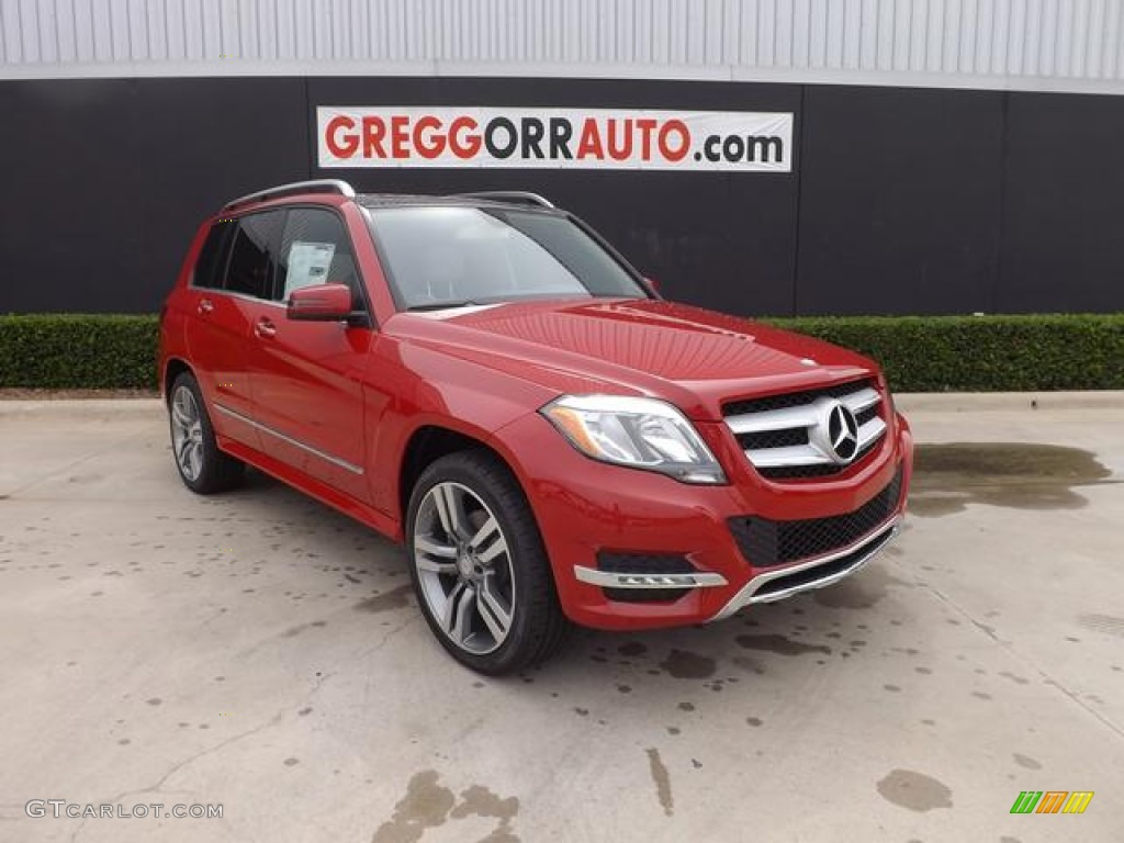 2014 Mars Red Mercedes Benz Glk 350 83774716 Gtcarlot