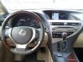 Parchment/Espresso Birds Eye Maple Dashboard Photo for 2013 Lexus RX #83829868