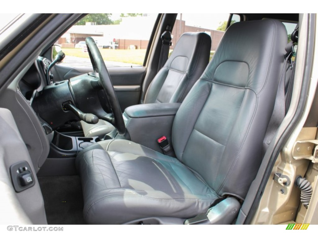 Dark Graphite Interior 1999 Ford Explorer Xlt 4x4 Photo 83830063