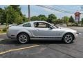 Satin Silver Metallic 2006 Ford Mustang V6 Premium Coupe Exterior