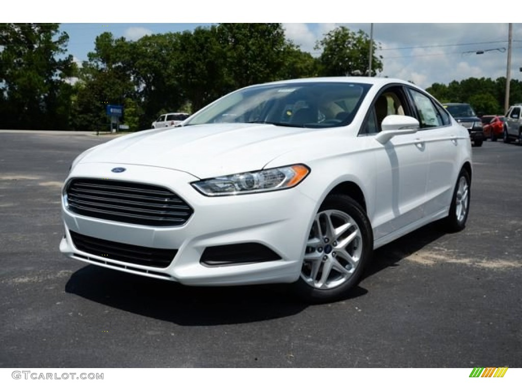 Oxford White 2013 Ford Fusion Se Exterior Photo 83843484