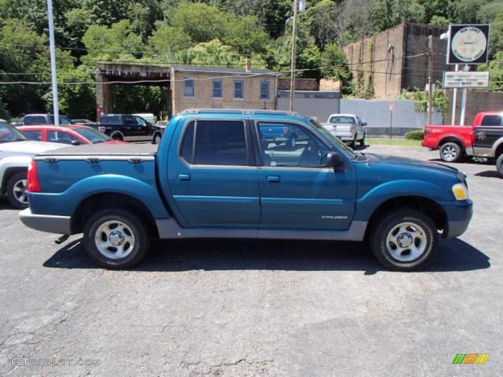 2002 True Blue Metallic Ford Explorer Sport Trac 4x4 83835993 Car Color Galleries