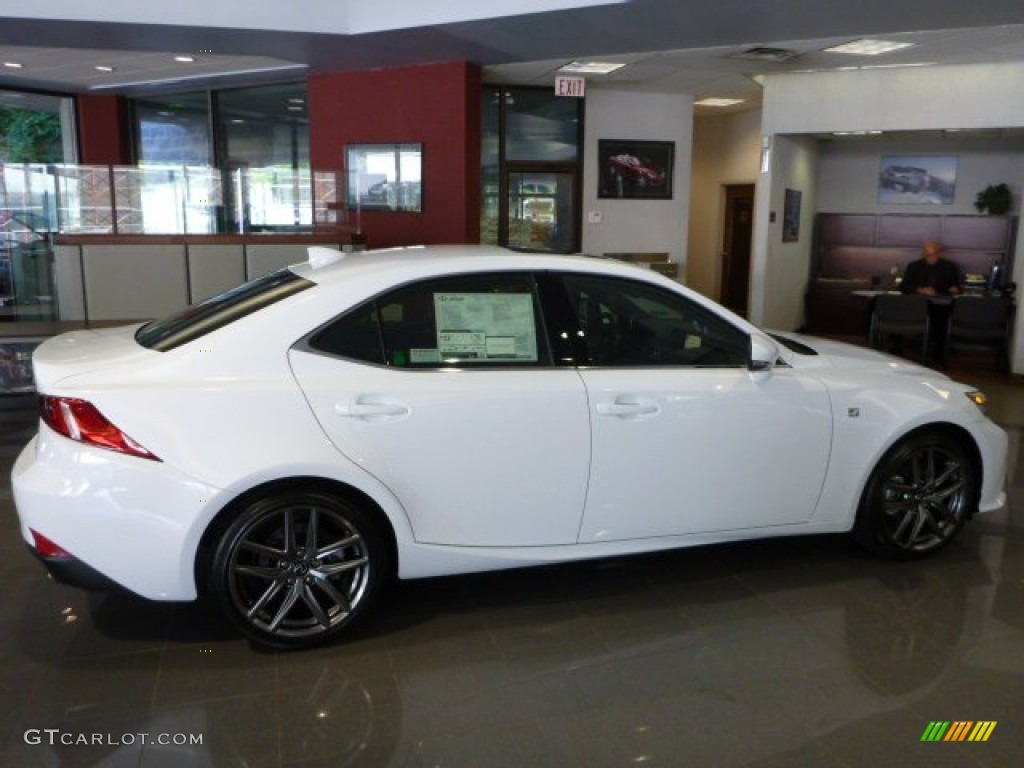 ultra white 2014 lexus is 250 f sport awd exterior photo 83869998. Black Bedroom Furniture Sets. Home Design Ideas