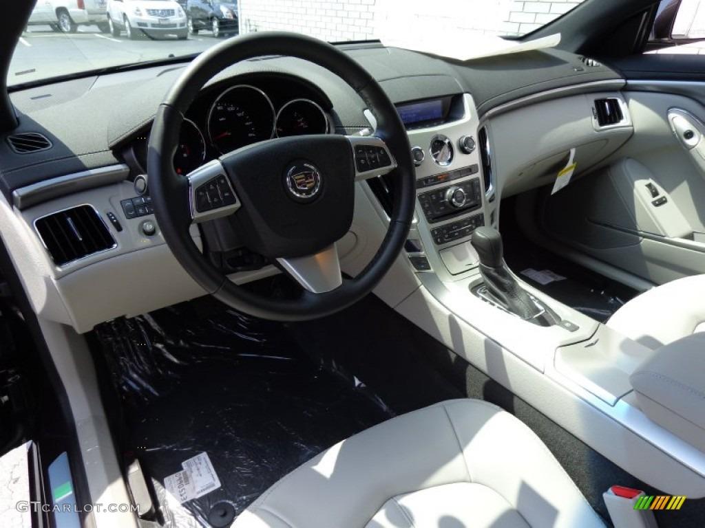 Light Titanium Ebony Interior 2014 Cadillac Cts Coupe Photo
