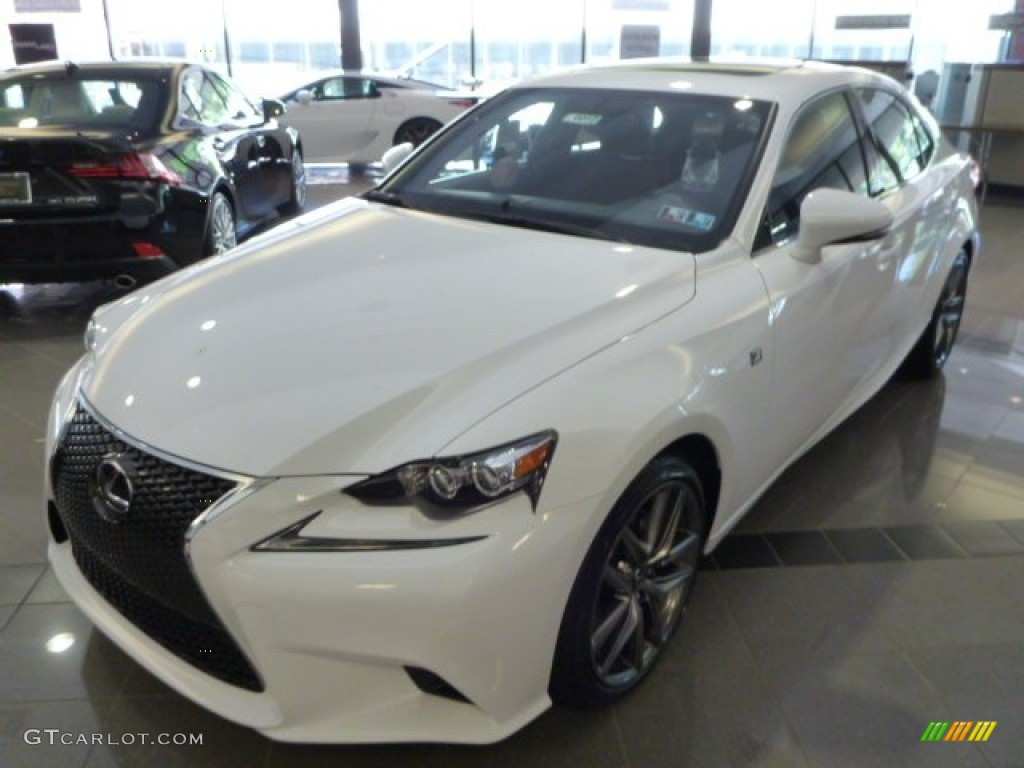 ultra white 2014 lexus is 250 f sport awd exterior photo 83870289. Black Bedroom Furniture Sets. Home Design Ideas