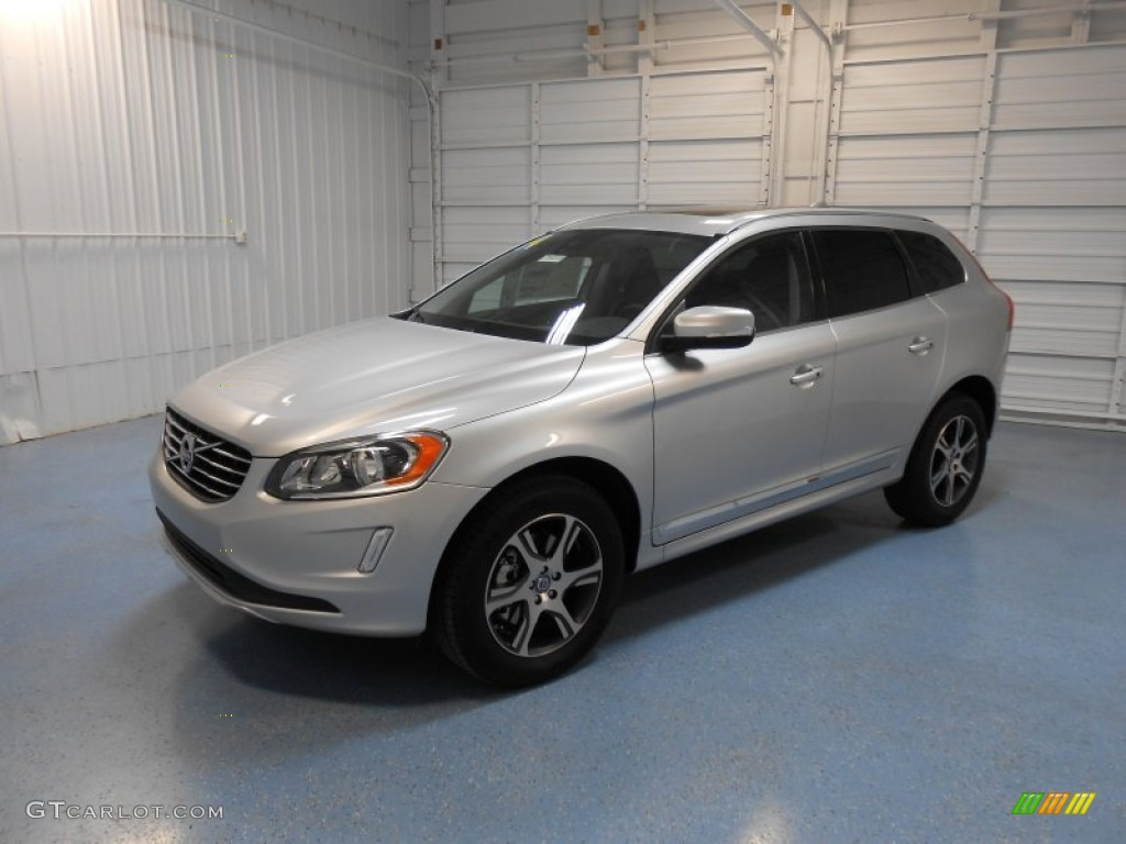 2014 electric silver metallic volvo xc60 t6 awd 83883791 photo 2 car color. Black Bedroom Furniture Sets. Home Design Ideas