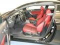 Red Leather/Red Cloth Front Seat Photo for 2013 Hyundai Genesis Coupe #83890840