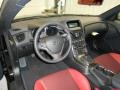 Red Leather/Red Cloth 2013 Hyundai Genesis Coupe Interiors