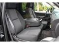Ebony Front Seat Photo for 2011 Chevrolet Silverado 1500 #83891707