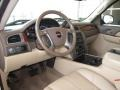 Cocoa/Light Cashmere 2009 GMC Sierra 1500 Interiors