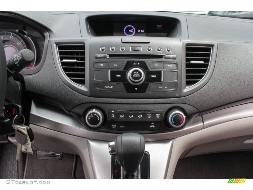 2012 CR-V EX 4WD - Basque Red Pearl II / Gray photo #12