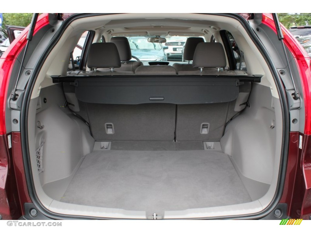 2012 CR-V EX 4WD - Basque Red Pearl II / Gray photo #18