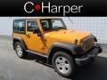 2012 Dozer Yellow Jeep Wrangler Sport S 4x4 #83884227