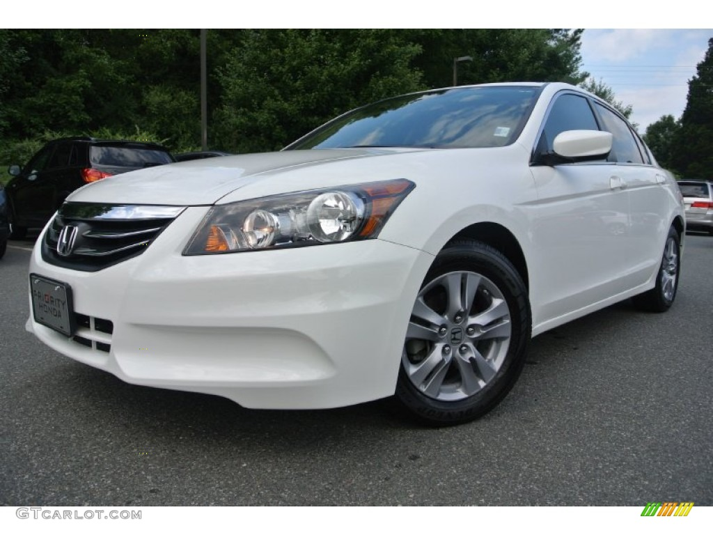 2011 Taffeta White Honda Accord Se Sedan 83884120