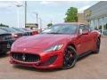 Rosso Trionfale (Red Metallic) 2014 Maserati GranTurismo Sport Coupe