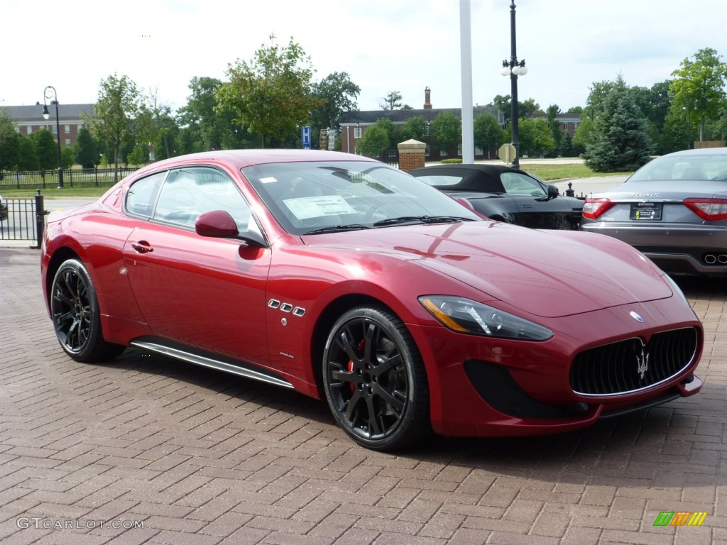 Rosso trionfale red metallic 2014 maserati granturismo - Maserati granturismo red interior ...