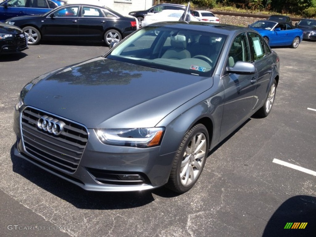 2013 monsoon gray metallic audi a4 2 0t quattro sedan 83883925 gtcarlot com car color galleries