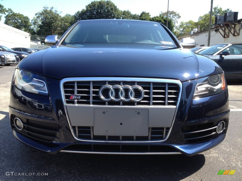 deep sea blue pearl effect 2011 audi s4 3 0 quattro sedan. Black Bedroom Furniture Sets. Home Design Ideas