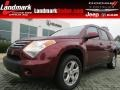 Cranberry Red Metallic 2008 Suzuki XL7 Luxury