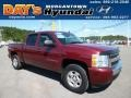 2009 Deep Ruby Red Metallic Chevrolet Silverado 1500 LT Crew Cab 4x4 #83935256