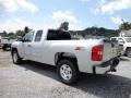 2013 Silver Ice Metallic Chevrolet Silverado 1500 LT Extended Cab 4x4  photo #5