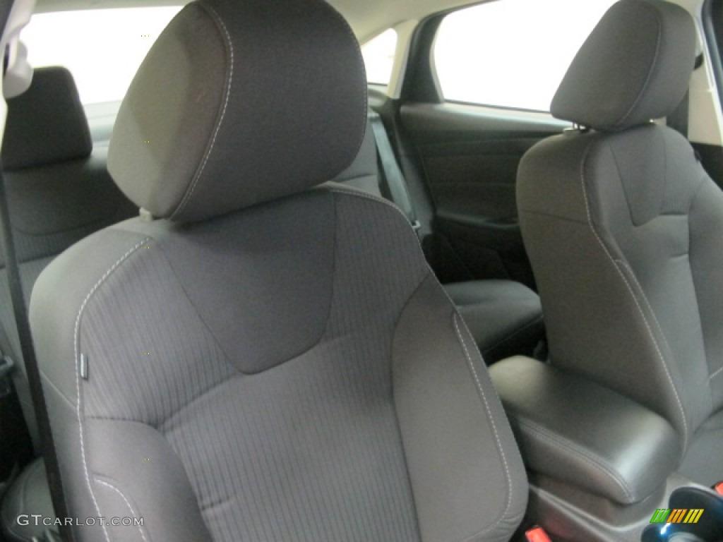 2012 Focus Titanium Sedan - White Platinum Tricoat Metallic / Charcoal Black photo #23