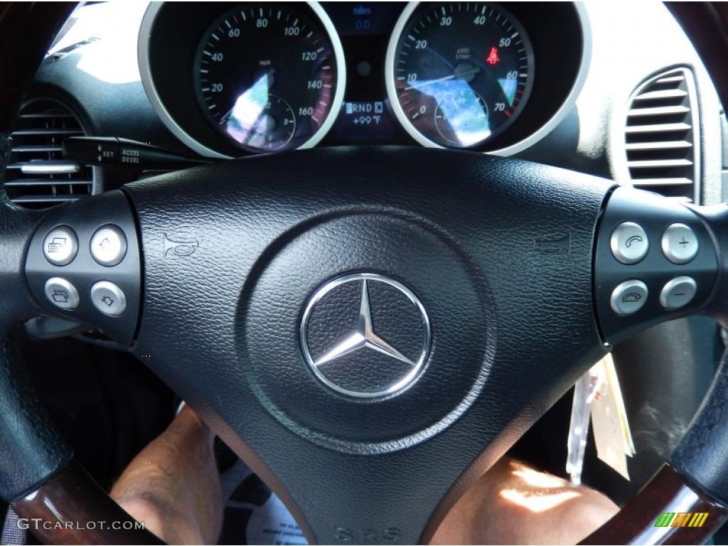 2006 mercedes benz slk 350 roadster steering wheel photos for Mercedes benz steering wheel control buttons