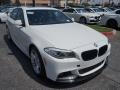 Alpine White 2013 BMW 5 Series Gallery