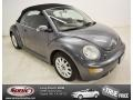 Platinum Grey Metallic 2004 Volkswagen New Beetle GLS Convertible