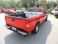 Fire Red - Sierra 1500 SL Extended Cab Photo No. 11