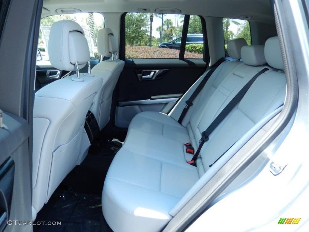 Ash Black Interior 2014 Mercedes Benz Glk 350 Photo