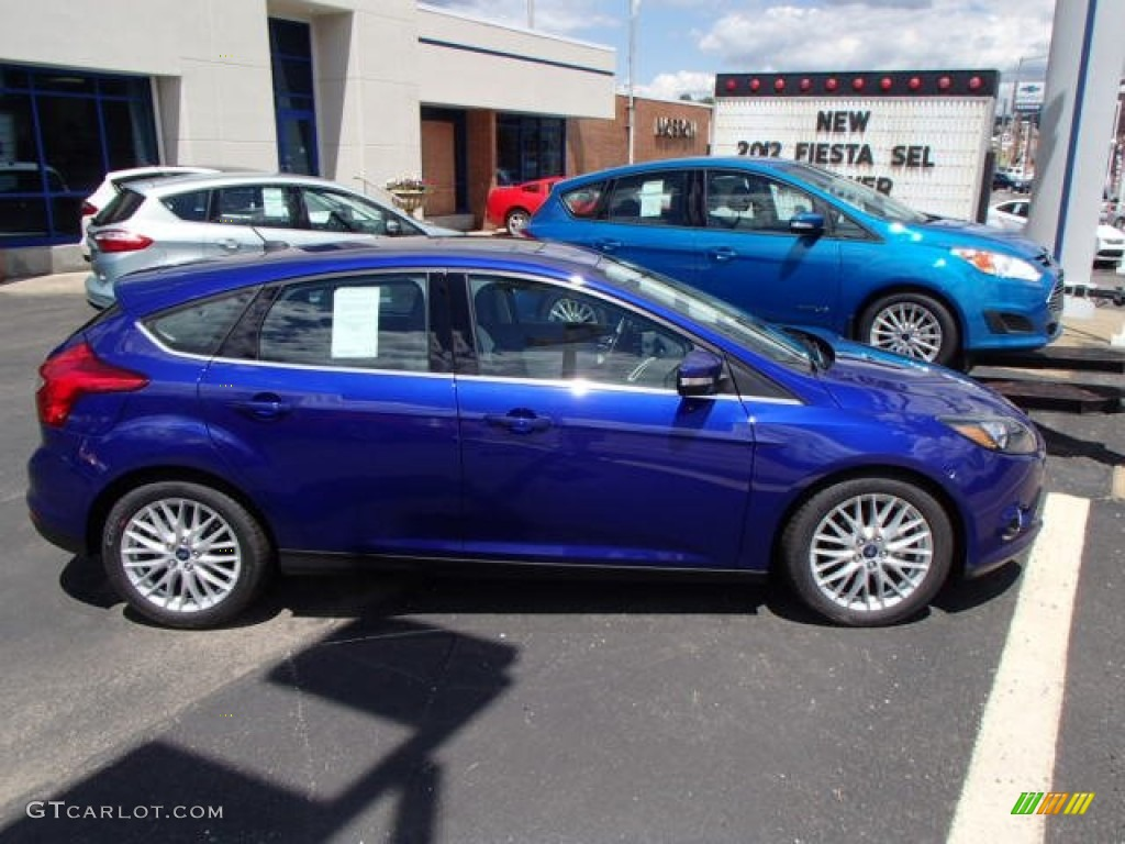 2014 performance blue ford focus titanium hatchback 83960959 photo 3 car. Black Bedroom Furniture Sets. Home Design Ideas