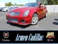 Red Obsession Tintcoat 2014 Cadillac CTS -V Sedan
