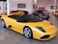 Giallo Orion (Yellow) 2009 Lamborghini Murcielago LP640 Roadster