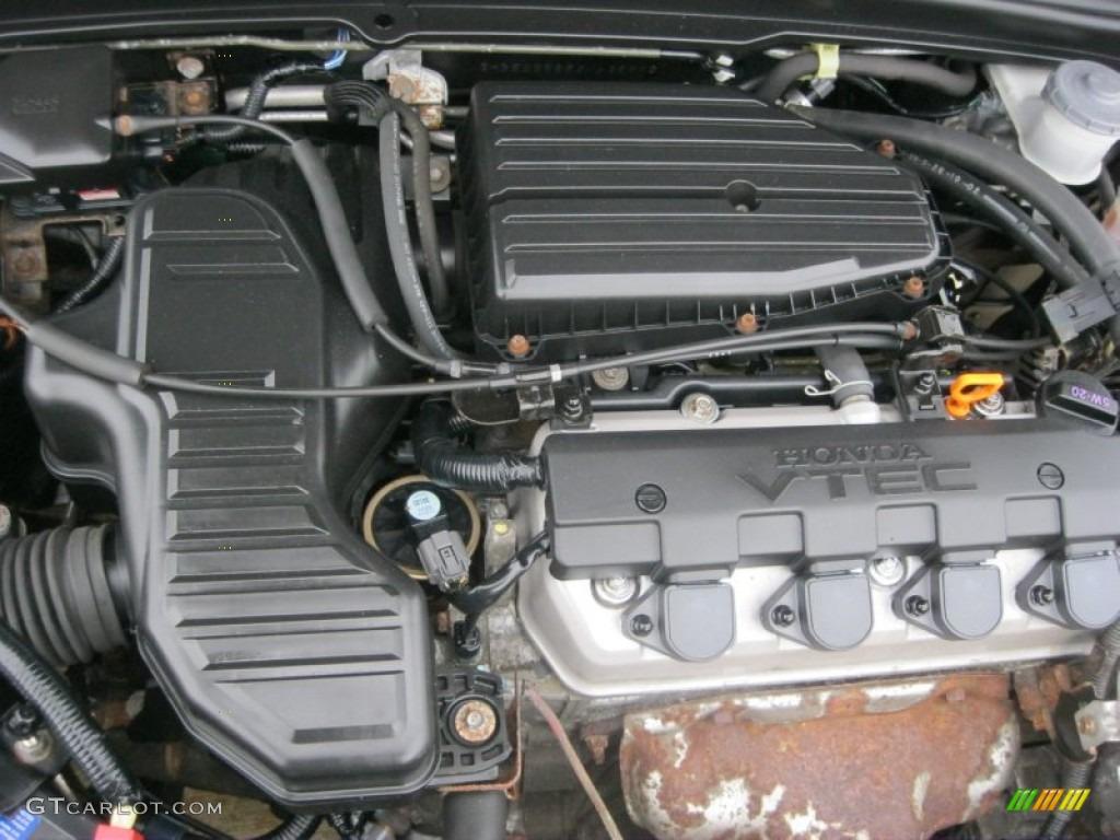 2003 honda civic ex sedan 1 7 liter sohc 16v 4 cylinder. Black Bedroom Furniture Sets. Home Design Ideas