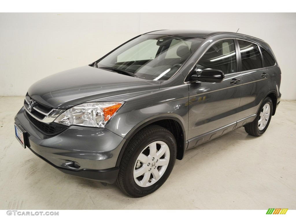 2011 CR-V SE - Polished Metal Metallic / Black photo #5