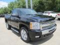 2011 Black Chevrolet Silverado 1500 LT Regular Cab 4x4  photo #11