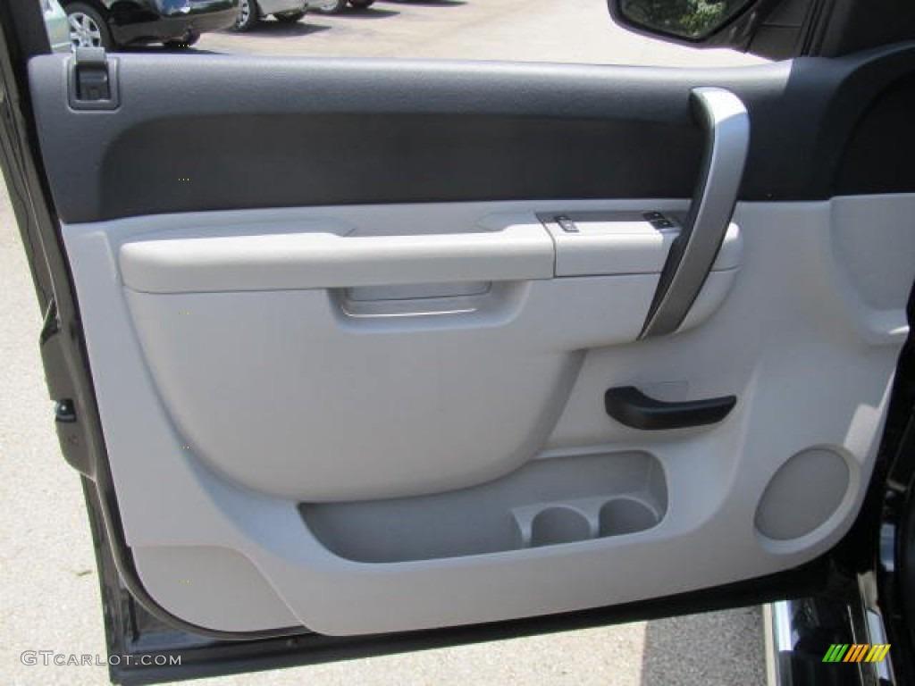 2011 Silverado 1500 LT Regular Cab 4x4 - Black / Light Titanium/Ebony photo #13