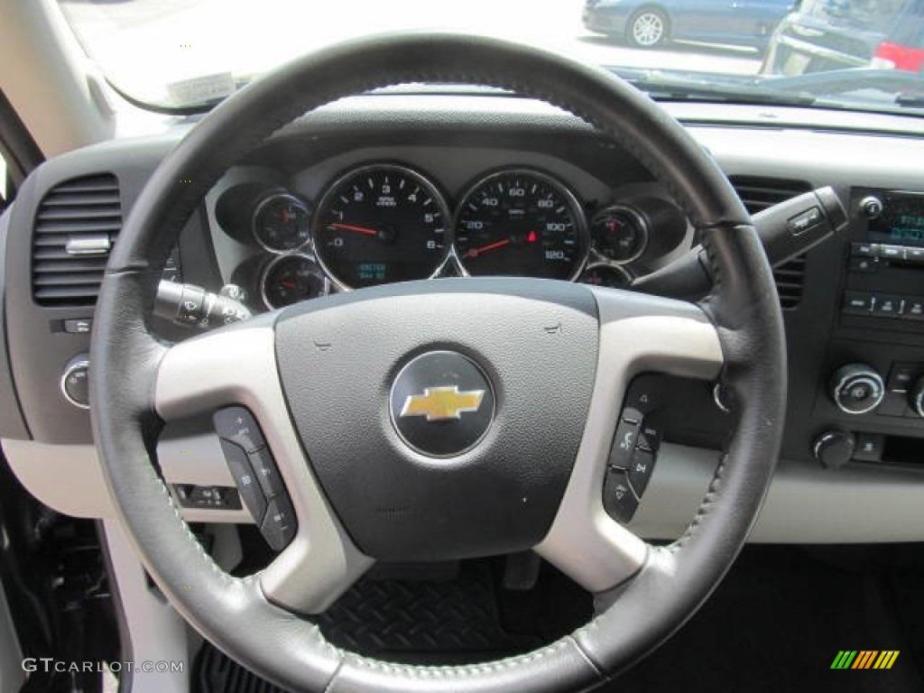 2011 Silverado 1500 LT Regular Cab 4x4 - Black / Light Titanium/Ebony photo #16