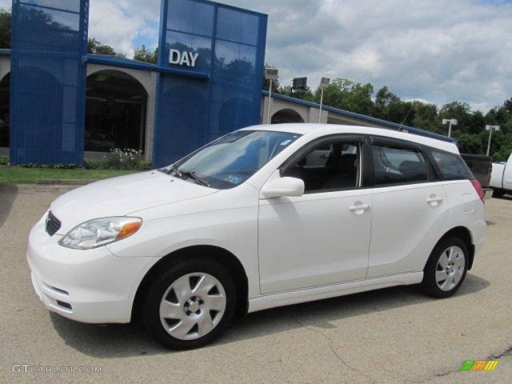 2004 super white toyota matrix xr awd 83990727 gtcarlot. Black Bedroom Furniture Sets. Home Design Ideas
