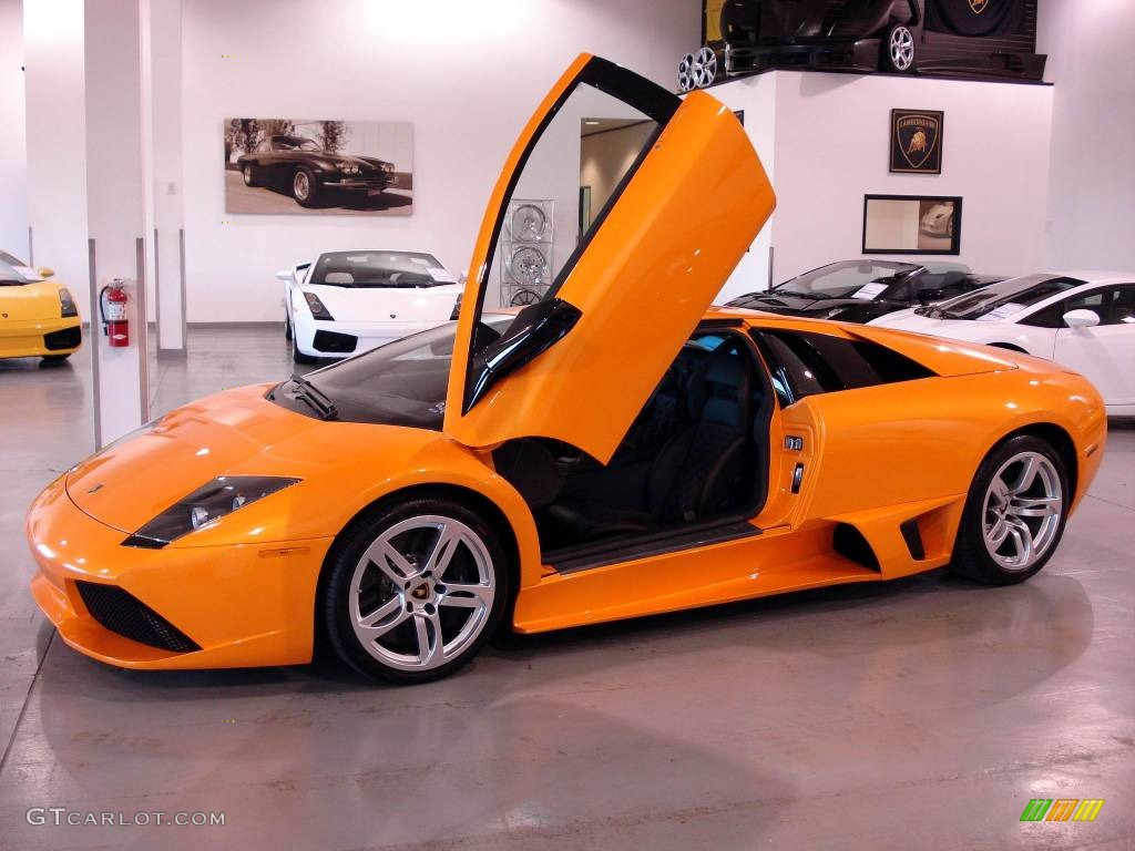 2009 Arancio Atlas Orange Lamborghini Murcielago Lp640 Coupe