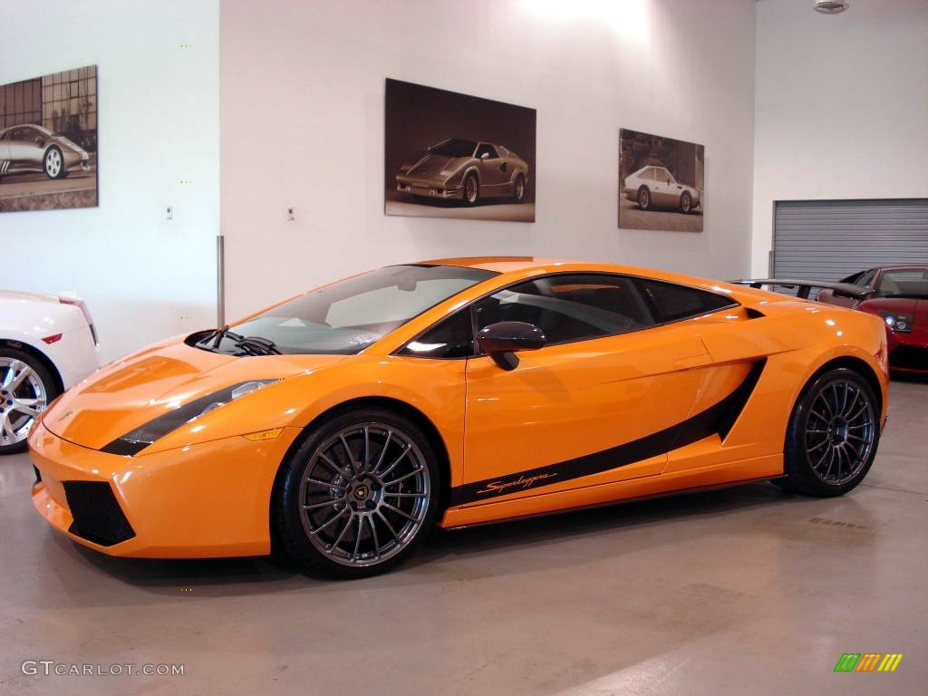 2008 Arancio Borealis Orange Lamborghini Gallardo Superleggera