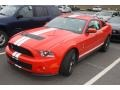 2011 Race Red Ford Mustang Shelby GT500 SVT Performance Package Coupe  photo #4