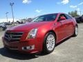 Crystal Red Tintcoat 2011 Cadillac CTS Coupe