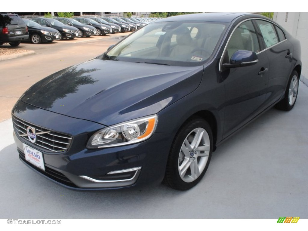 2014 caspian blue metallic volvo s60 t5 83991296 photo 3 car color galleries. Black Bedroom Furniture Sets. Home Design Ideas